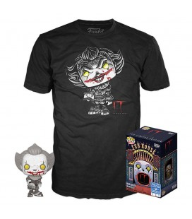 Pop! Pennywise (Exclusive Beaver Hat Black & White) [830] & T-Shirt