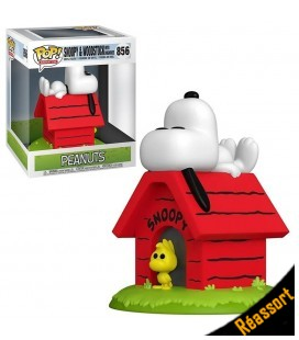 Pop! Deluxe Snoopy & Woodstock with Doghouse [856]