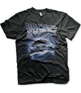 T-shirt Flying Delorean