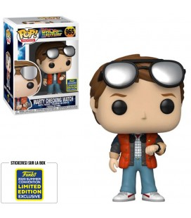 Pop! Marty Checking Watch 2020 Summer Convention Edition Limitée [965]