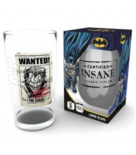 Verre Joker Wanted