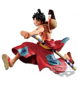 Statuette Battle Record Collection Monkey D. Luffy
