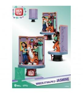 Diorama Jasmine & Vanellope (Ralph 2.0)