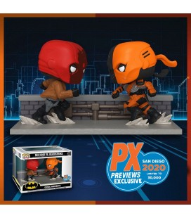"Pop! Red Hood Vs Deathstroke ""Comic Moments"" SDCC 2020 Edition Limitée (30000 Ex.) [336]"