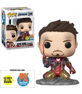 Pop! Deluxe Iron Man (I Am Iron Man) GITD Edition Limitée [580]