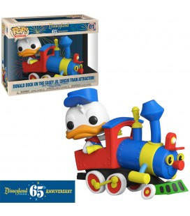 Pop! Trains Donald Duck On Casey Jr. Circus Train (Disneyland 65Th Anniversary) [01]