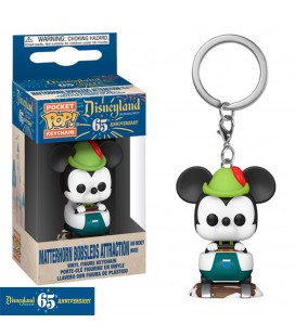 Pocket Pop! Keychain - Matterhorn Bobsleds Attraction & Mickey Mouse (Disneyland 65Th Anniversary)