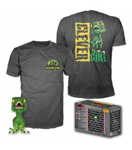 Pop! Velociraptor (Exclusive Clever Girl) [888] & T-Shirt