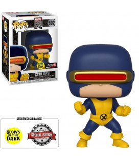 Pop! Cyclops (Exclusive GITD) [502] & T-Shirt