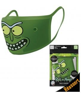 Set de 2 Masques Tissu Pickle Rick