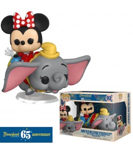 Pop! Rides Dumbo The Flying Elephant Attraction & Minnie (Disneyland 65Th Anniversary) [92]