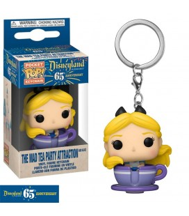 Pocket Pop! Keychain - Alice In The Mad Tea Party Attraction (Disneyland 65Th Anniversary)