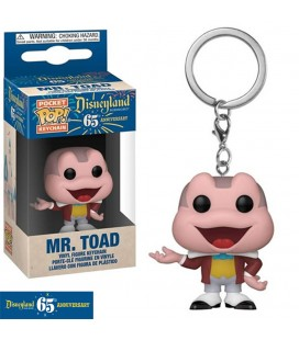 Pocket Pop! Keychain - Mr. Toad (Disneyland 65Th Anniversary)