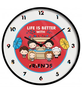 Horloge Life is Better... 25Cm