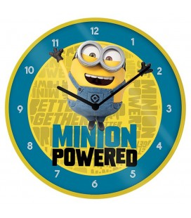 Horloge Minion Powered 25Cm