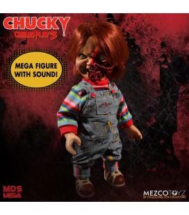 Poupée parlante Chucky Pizza Face Designer Series 38Cm