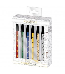 Set de 6 Stylos Harry Potter