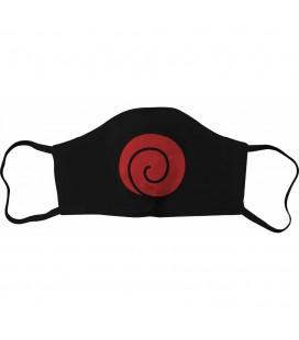 Masque Tissu Uzumaki Red