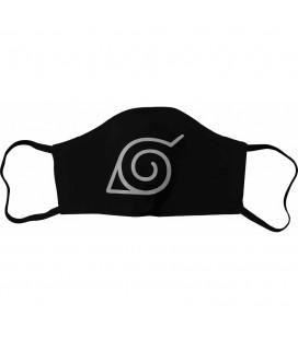 Masque Tissu Konoha Logo