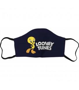 Masque Tissu Tweety Navy