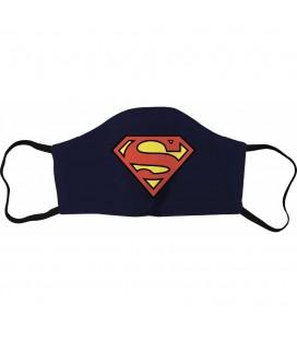 Masque Tissu Superman Logo