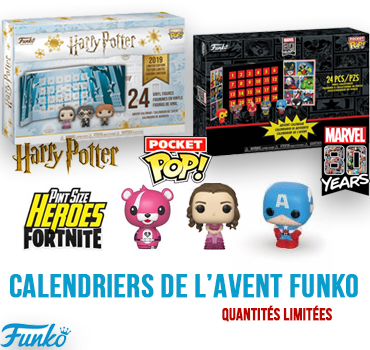 Calendrier De Lavent Harry Potter Funko Pop.Addict Popculture